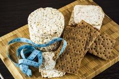 Knuspriges Brot und Machthaber Stockfotos