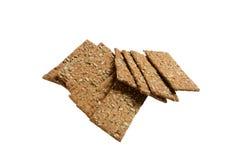 Knuspriges Brot von den ganzen Körnern Lizenzfreie Stockbilder