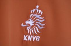 KNVB-Logo stockfoto