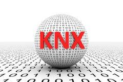 KNX概念性球形 皇族释放例证