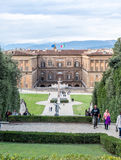 Knyckträdgård i Florence royaltyfria bilder