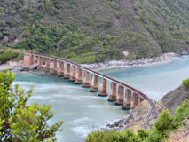 Knysna bridge Stock Photo