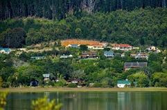 Knysna, de Route van de Tuin, Zuid-Afrika. Stock Fotografie