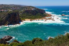 Knysna, Featherbed, Featherbed Nature Reserve, Knysna Heads, South Africa. Garden Route, Western Cape Stock Photo