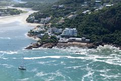 Knysna Head Properties Royalty Free Stock Photos