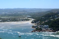 Knysna Head Properties Royalty Free Stock Images