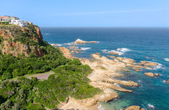 Knysna Heads in South Africa Royalty Free Stock Photography