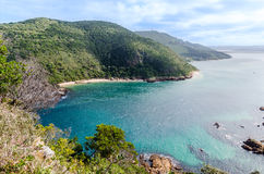 Knysna Heads in South Africa Stock Images