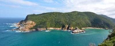 Knysna Heads in South Africa Royalty Free Stock Photos