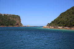Knysna Heads. South Africa. The Heads in Knysna. Garden Route. South Africa Royalty Free Stock Photos