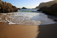 Knysna Heads. South Africa. The Heads in Knysna at Sunset. Garden Route. South Africa Stock Photography