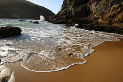 Knysna Heads. South Africa. The Heads in Knysna at Sunset. Garden Route. South Africa Stock Images