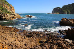 Knysna Heads. South Africa. The Heads in Knysna at Sunset. Garden Route. South Africa Stock Photos