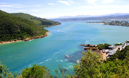 Knysna Lagoon in the Garden Route Stock Images