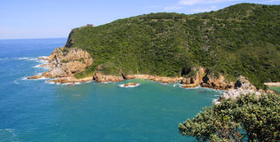 Knysna Lagoon in the Garden Route Royalty Free Stock Images