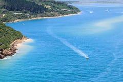 Knysna-Lagune Stockfoto