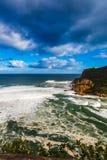 Knysna-Laguneneingang Lizenzfreie Stockfotografie