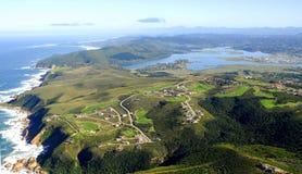 Knysna nabrzeże w Ogrodowej trasie: Południowa Afryka Zdjęcia Royalty Free