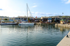 Knysna Waterfront in South Africa Stock Photography