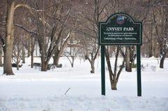 KNYVET-Park Stockfoto