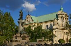 KoÅ-› cià ³ Å 'Seminaryjny-Kirche Stockbilder