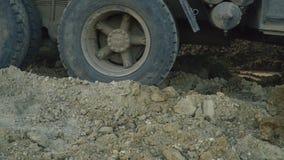 Koła ładowna ciężarówka zdjęcie wideo