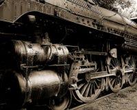 koła pociągów, fotografia stock