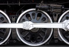 koła pociągów, Obraz Stock