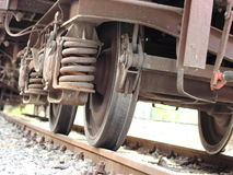 Koła pociąg Zdjęcia Stock