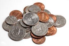 kołek monet Fotografia Royalty Free