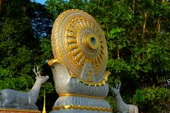 Koło życie: Dhamma dla uwolnienia Obrazy Royalty Free