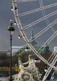 koło ferris Paryża zdjęcie stock