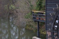 Koło Holenderski watermill zdjęcie royalty free