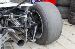 Koło samochód wyścigowy Obraz Royalty Free