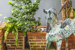 Kołysać konia Zamknięty up Zdjęcie Royalty Free