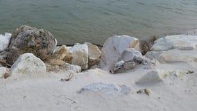 kołysa morze fotografia stock