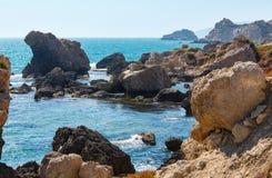Kołysa w morzu blisko Agrigento, Sicily, Włochy Obrazy Stock