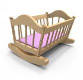 kołysankowy drewniany Fotografia Stock