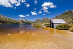 Kołysankowy Halny Tasmania: łódkowata buda Obraz Stock