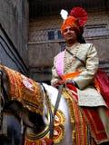 koń na ślub Fotografia Stock