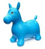koń odizolowywająca zabawka Zdjęcia Royalty Free