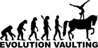 Koń Sklepia ewolucja ilustracja wektor