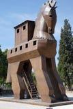 Koń Trojański replika zdjęcia royalty free
