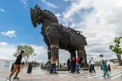 Koń trojański w Turcja Obraz Stock