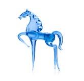 Koń z błękitnego szkła. Obrazy Royalty Free