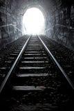 końcówka światła tunel Zdjęcie Stock