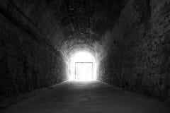 końcówka światła tunel Zdjęcie Royalty Free