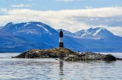 Końcówka Światowa latarnia morska fotografia stock