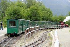 Końcówka światowy pociąg - Ushuaia Zdjęcie Stock