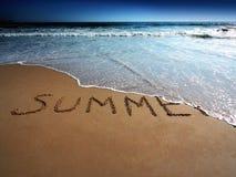 końcówka lato zdjęcia stock